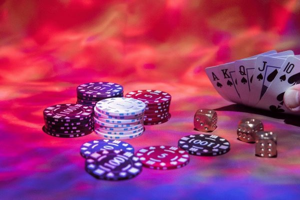Online games in a casino