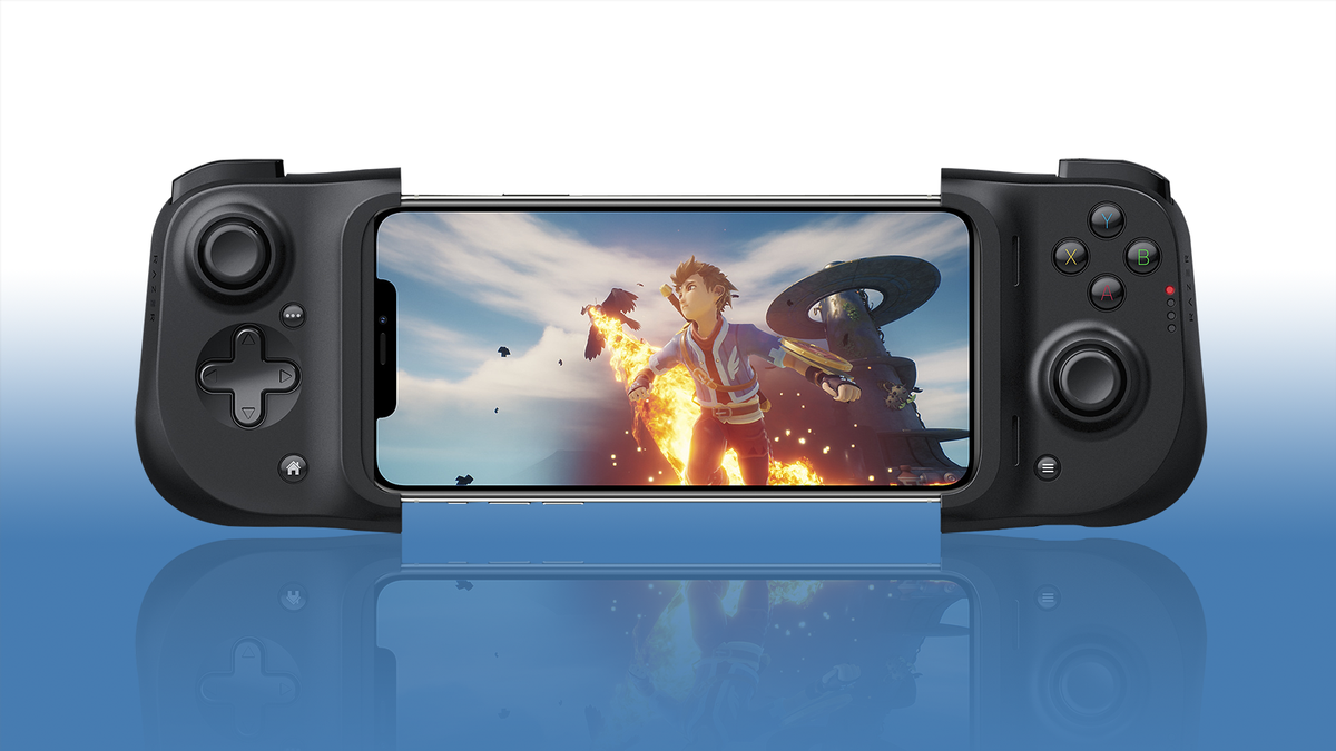 Smartphone gaming triggers
